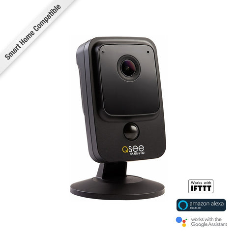 4K Wi-Fi Cube Security Camera (QCW4K1MCB / QCW4K1MCW)