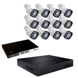 32 Channel 4K NVR System with (10/12/16/24/32) 5MP Bullet Cameras and 3TB/4TB/8TB HDD