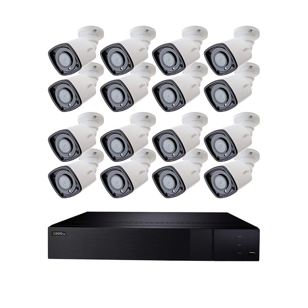 32 Channel 4K NVR System with (16/24/32) 1080p Bullet Cameras and 4TB/8TB HDD