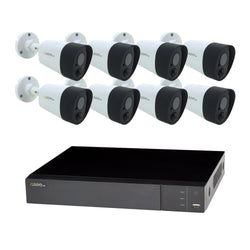 16 Channel 5MP Multi format DVR System with (8/10/16) 5MP PIR Bullet Cameras and 2TB HDD