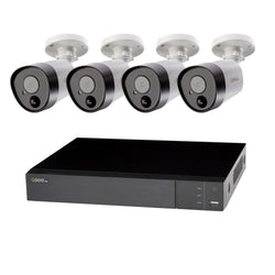 8 Channel 5MP Multi format DVR System with (4/6/8) 5MP PIR Bullet Cameras and 2TB HDD