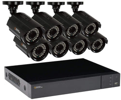 16 Channel 1080p Multi format DVR System with 8 1080p Bullet Cameras and 2TB HDD