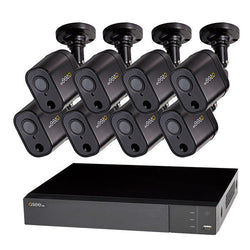 16 Channel 1080p Multi format DVR System with 8 1080p PIR Bullet Cameras and 2TB HDD