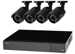 4 Channel 1080p DVR, 1TB HDD with 4-1080p Bullet Cameras (QTH94-4CN-1)