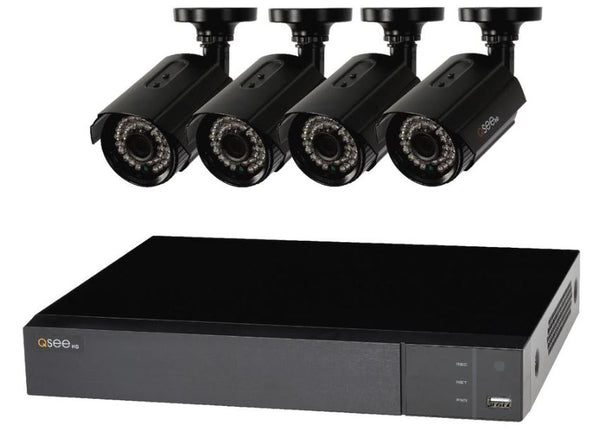 4 Channel 1080p Multi-Format DVR System with (4) 1080p Bullet Cameras and 1TB HDD