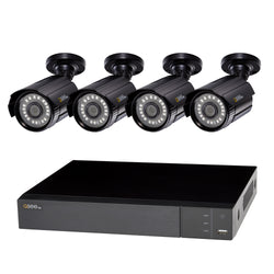 8 Channel 1080p Multi format DVR System with (4/6/8) 1080p Bullet Cameras and (1/2) TB HDD