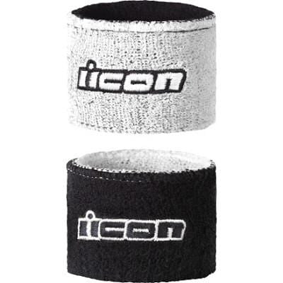 Icon Motorsports sweatband brake fluid reservoir cover 2 pack