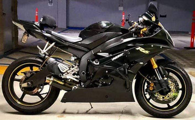 Impaktech stunt cage Yamaha R6 R6r Black Gold 06-18 R6 yzf-r6 two brothers exhaust 2 brothers exhaust shorty