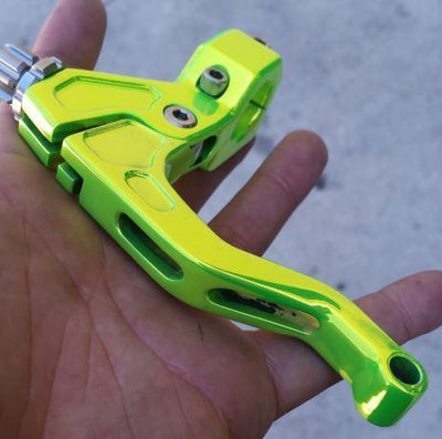 Impakteh ez pull clutch lever shocker yellow stunt clutch