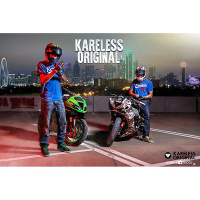 motorcycle stunt shirt stunt appare Kareless Originals