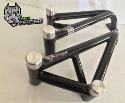 New Breed Stunt Parts Honda 1000RR crash cage aluminum sliders 2008 2009 2010 2011 2012 2013 2014 2015 08-15 1000 RR