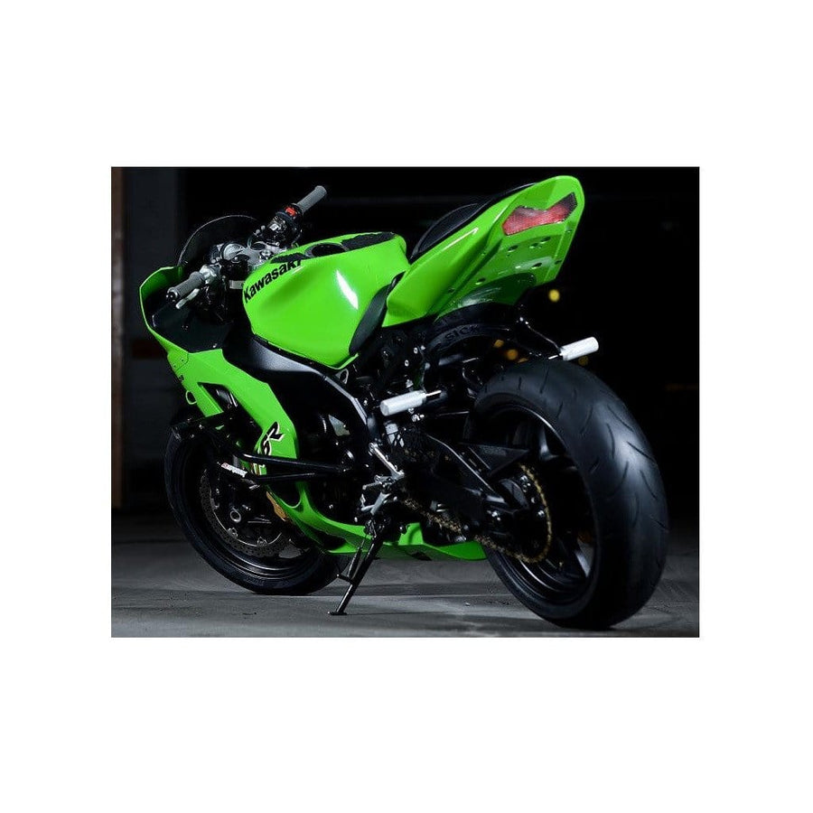 Sick Innovations Kawasaki subcage 03-04 ZX6R 636 2003 2004 2005 2006 STUNT PEGS