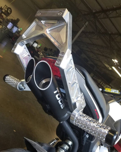 Honda Grom subcage 12 bar Impaktech MSX125 Toce Exhaust