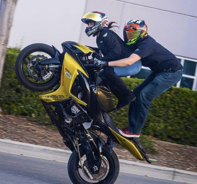 Suzuki GSXR crash cage stunt bike Racing 905