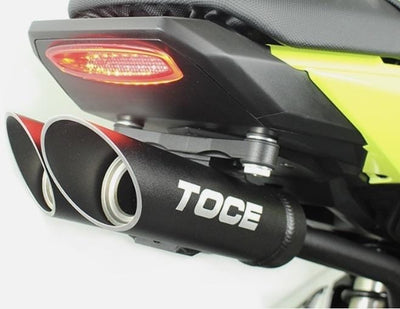 Honda Grom taillight undertail exhaust Toce dual pipes