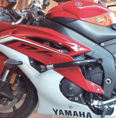 Yamaha R6 R6R race armor by Racing 905 - red white
