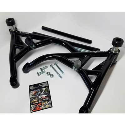 New Breed IRX4 Kawasaki ZX6R 636 Stunt Cage - Dual Slider Cage - Shock Absorbing