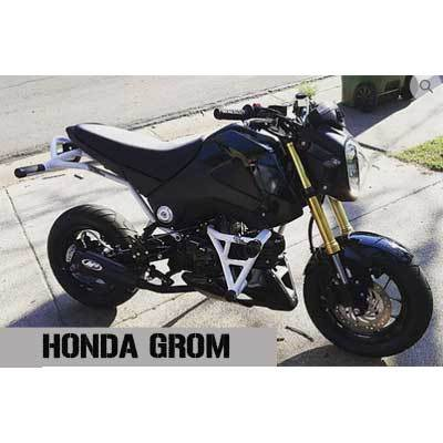 Honda Grom Crash Cage Subcage New Breed Stunt Parts MSX125 2014 2015 2016 2017 2018