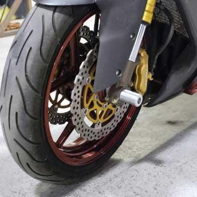 Sick Innovations Axle Pegs Axle Sliders Front and Rear - SUZUKI GSXR 600 GSXR 750