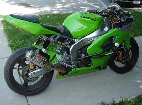 Sick Innovations Kawasaki ZX6R 636 Crash Cage