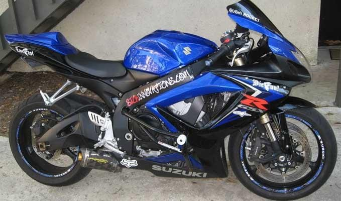Sick Innovations Crash Cage GSXR 600 GSXR 750 Stunt Cage