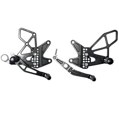 Vortex Racing Rearsets - Streetbike Supply