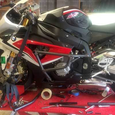 BMW S1000RR Crash Cage - S1000R Stunt Cage - Xtreem Bike Works