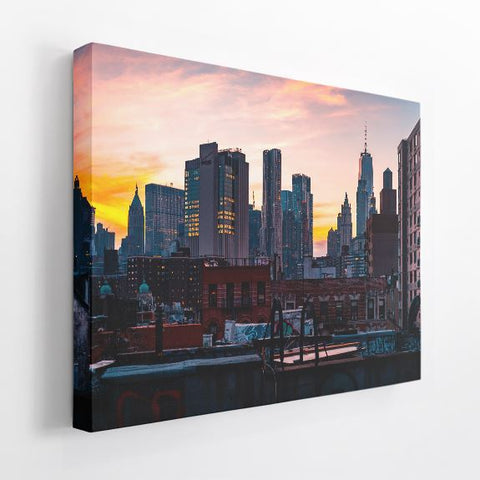 "Acoustic Art | 1.5"" Acoustic Art Panel, Cityscape A"