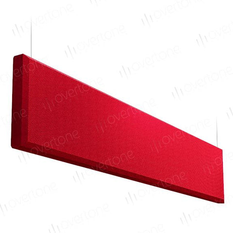 Acoustic Panels-1 x 4 / DK Red / Beveled