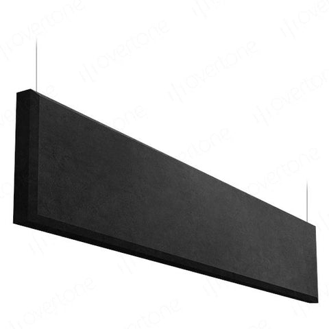 Acoustic Panels-1 x 4 / MS Black / Beveled