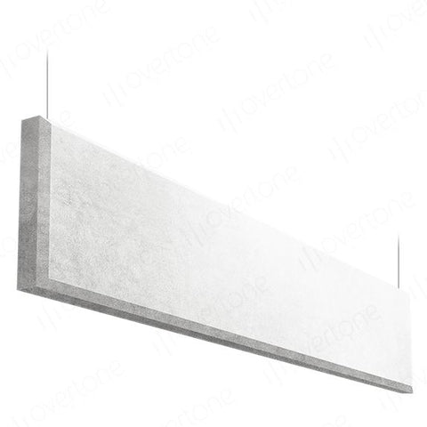 Acoustic Panels-1 x 4 / MS White / Beveled