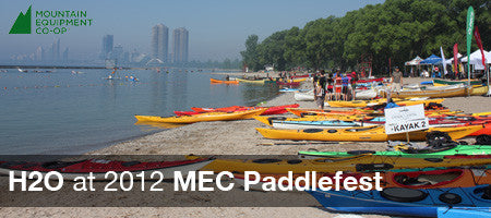 H2O at 2012 MEC Paddlefest