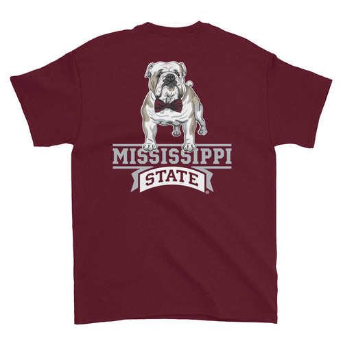Bulldog Bowtie with Banner t-shirt