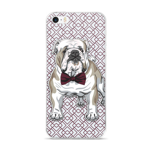 Bowtie Bulldog iPhone 5/5s/Se, 6/6s, 6/6s Plus Case
