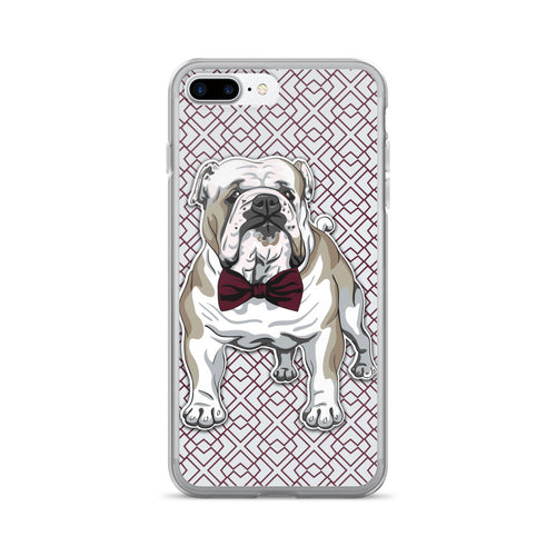 Bowtie Bulldog iPhone 7/7 Plus Case