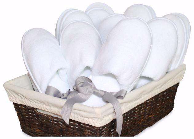 Women's White Slippers made with plush white coral fleece, comfortable padded soles, and safe non-skid surfaces. Love White Slippers is the only subscription services that delivers plush white slippers – with free shipping – to your home.