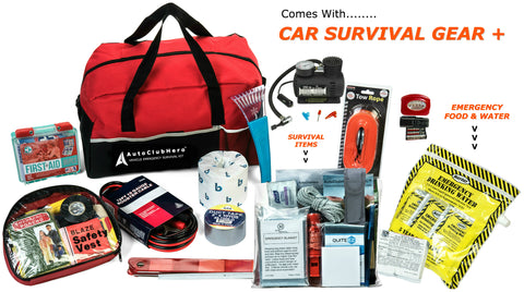 185 Piece Car Emergency Kit Lifetime Warranty