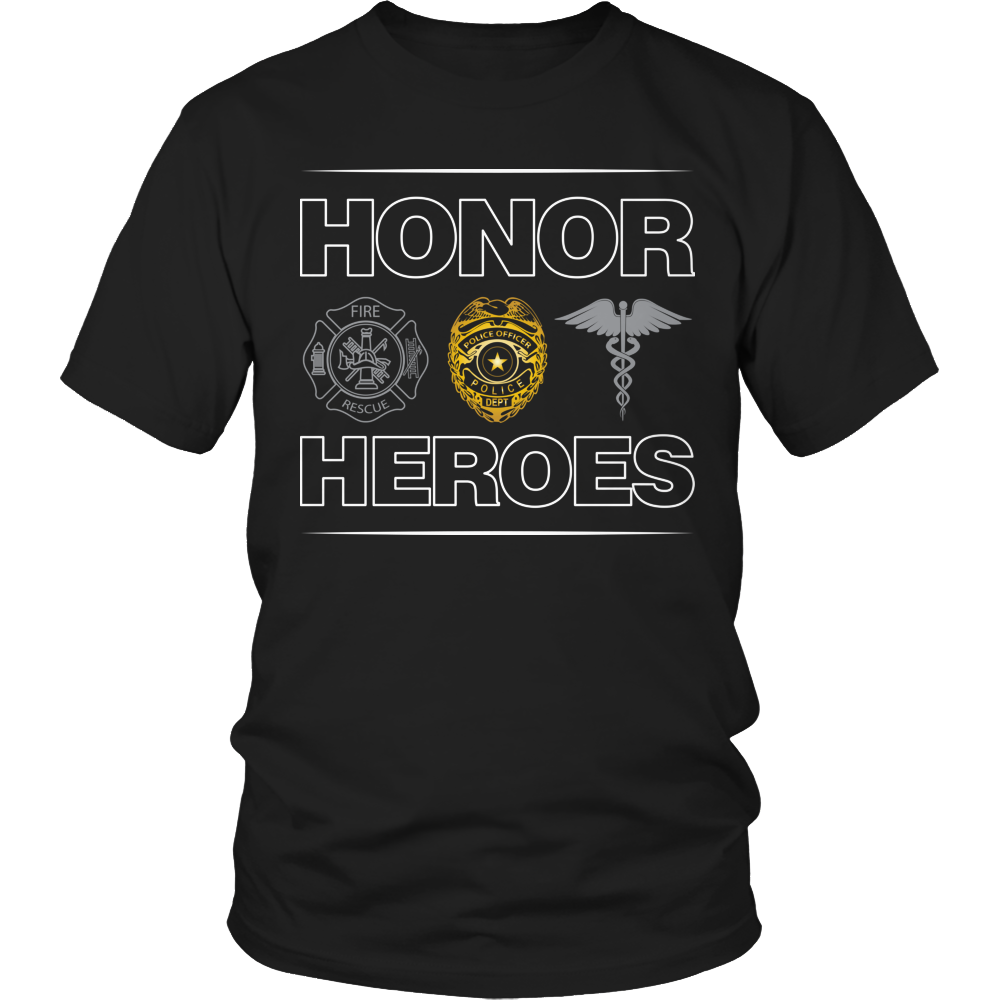 Shirt - Limited Edition - Honor Heroes - POLICE