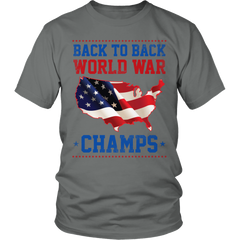 Shirt - Limited Edition -Back to Back World War Champs