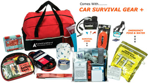 Car Emergency Kit Plus Car Survival Gear (190 Pieces) Ultimate All-In-One Solution For Any Roadside Emergency!