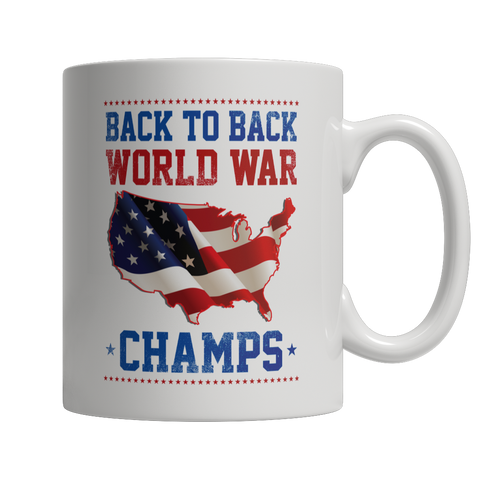 Coffee Mug - Limited Edition -Back to Back World War Champs