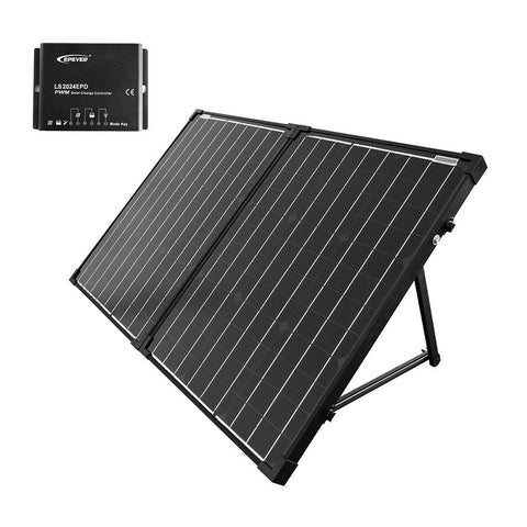 ACOPOWER 100W Foldable Solar Panel Kit with 20A waterproof Charge Controller