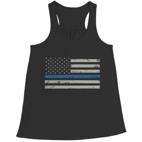 Tank Top - Limited Edition - Blue Line Flag