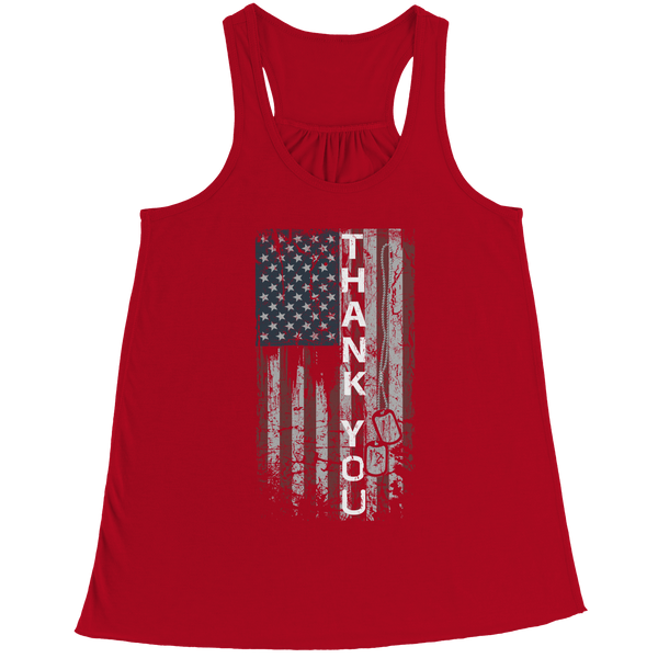 Tank Top - Limited Edition - Thank You Flag