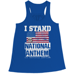 Tank Top - Limited Edition - I Stand for the National Anthem
