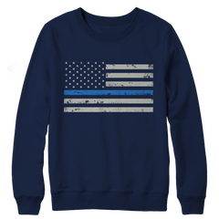 Fleece - Limited Edition - Blue Line Flag
