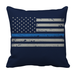 Pillow Case - Limited Edition - Blue Line Flag