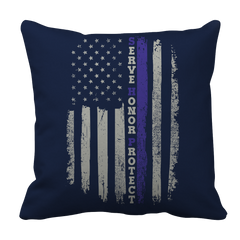 Pillow Case - Limited Edition - Serve Honor Protect