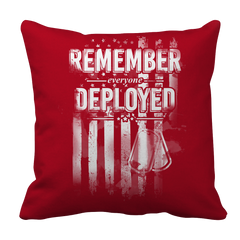Pillow Case - Limited Edition - Remember Everyone Deployed