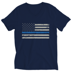 Shirt - Limited Edition - Blue Line Flag